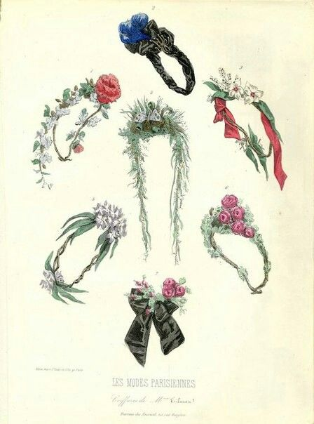 Photo of Flowers and leaves in hair: accessories for fashion …