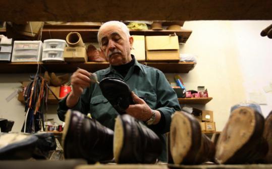 cf1b6939c1 george's shoe repair boston - Improper Boston's Best shoe repair ...