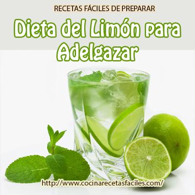 dieta de limon y agua tibia