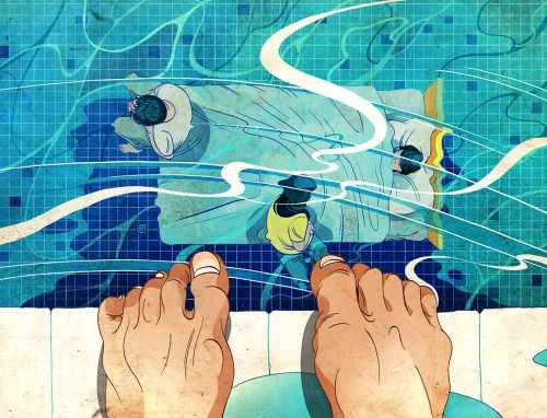 Family Life- NYT Book Review Cover Victo Ngai