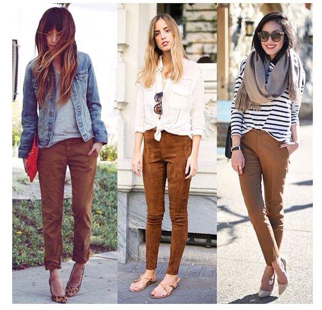 Look Calca Camelo Ropa Ropa De Moda Pantalon Cafe Mujer