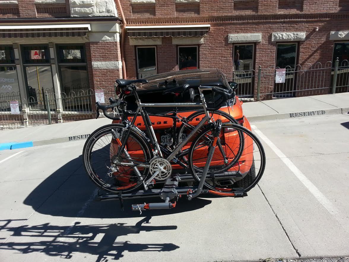 range rover evoque and bike racks oh
