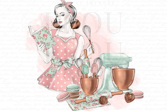 Kitchen Clipart Bakery Clip Art Cooking Graphics Baking