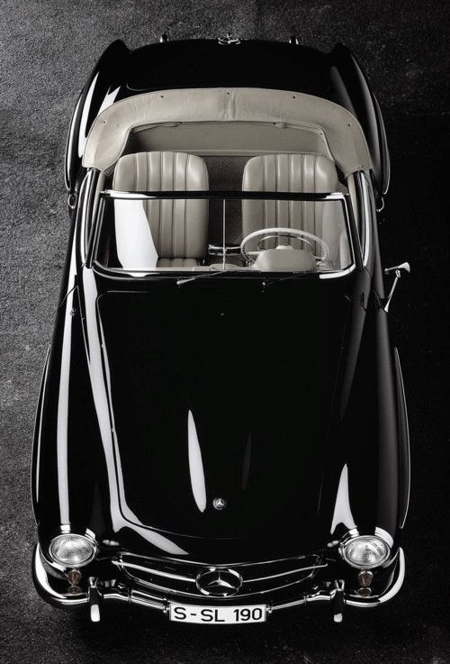 back in black - Mercedes SL