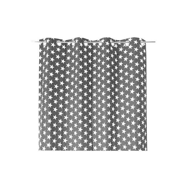 Rideau Star Gris 140 x 250 cm - CASTORAMA   Chambre boy   Pinterest