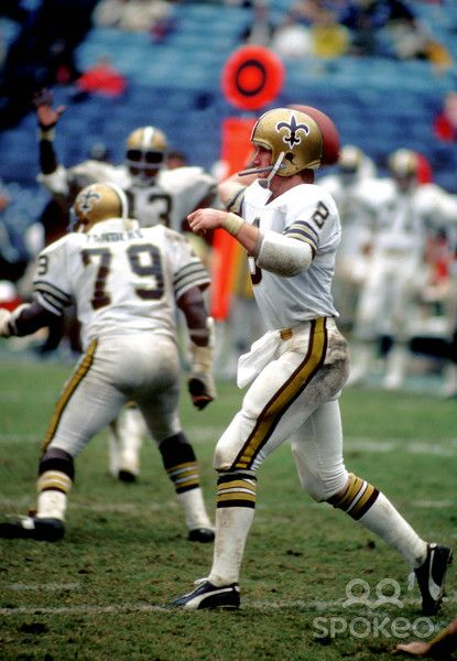 b9398b4d9 The Saints wore all white road uniforms for one season in 1975 ...