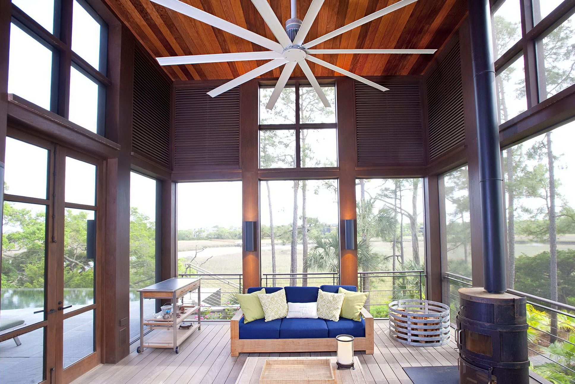Large Ceiling Fans For High Ceilings