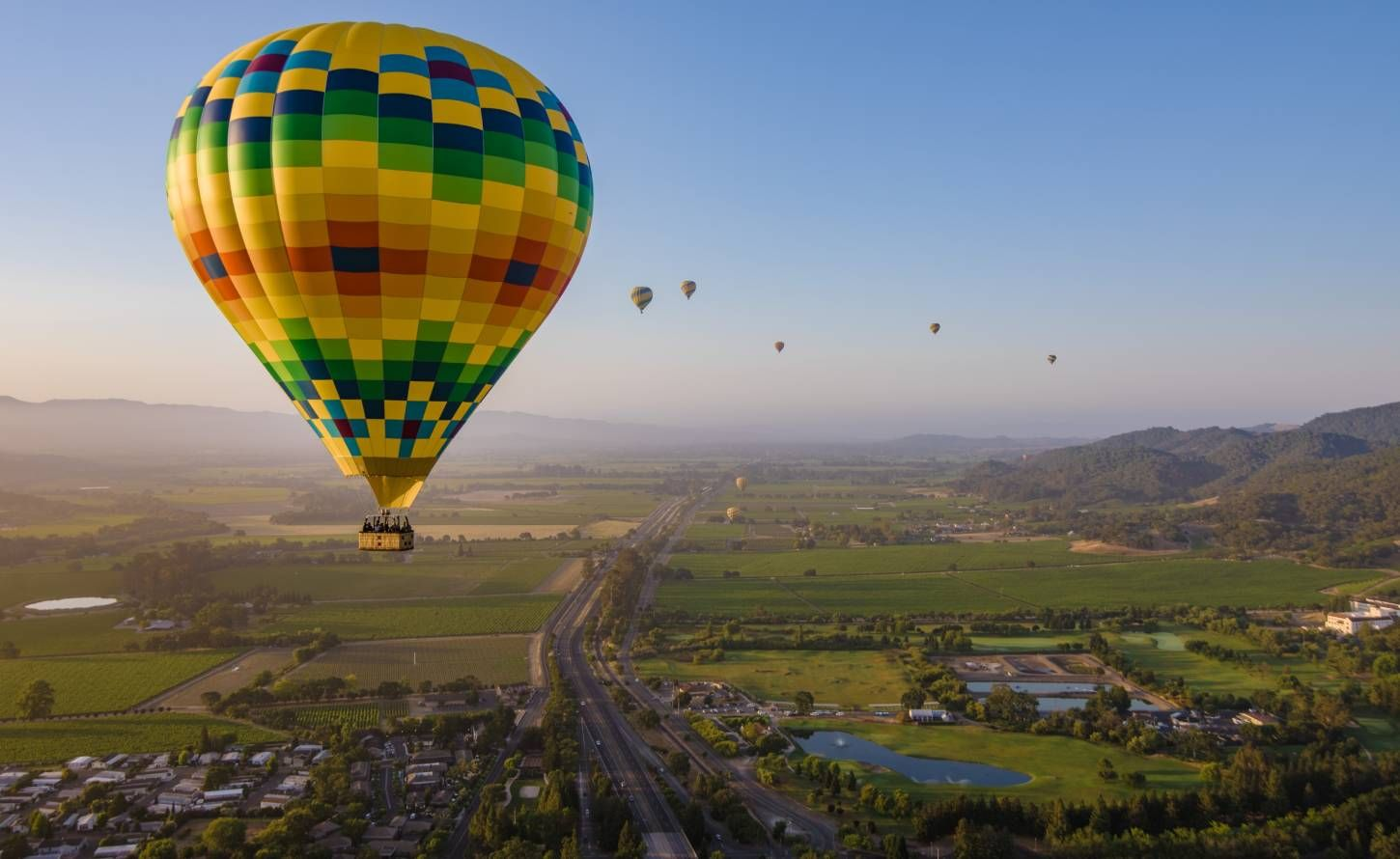 Hot Air Balloon Rides over Napa Valley in 2020 Napa