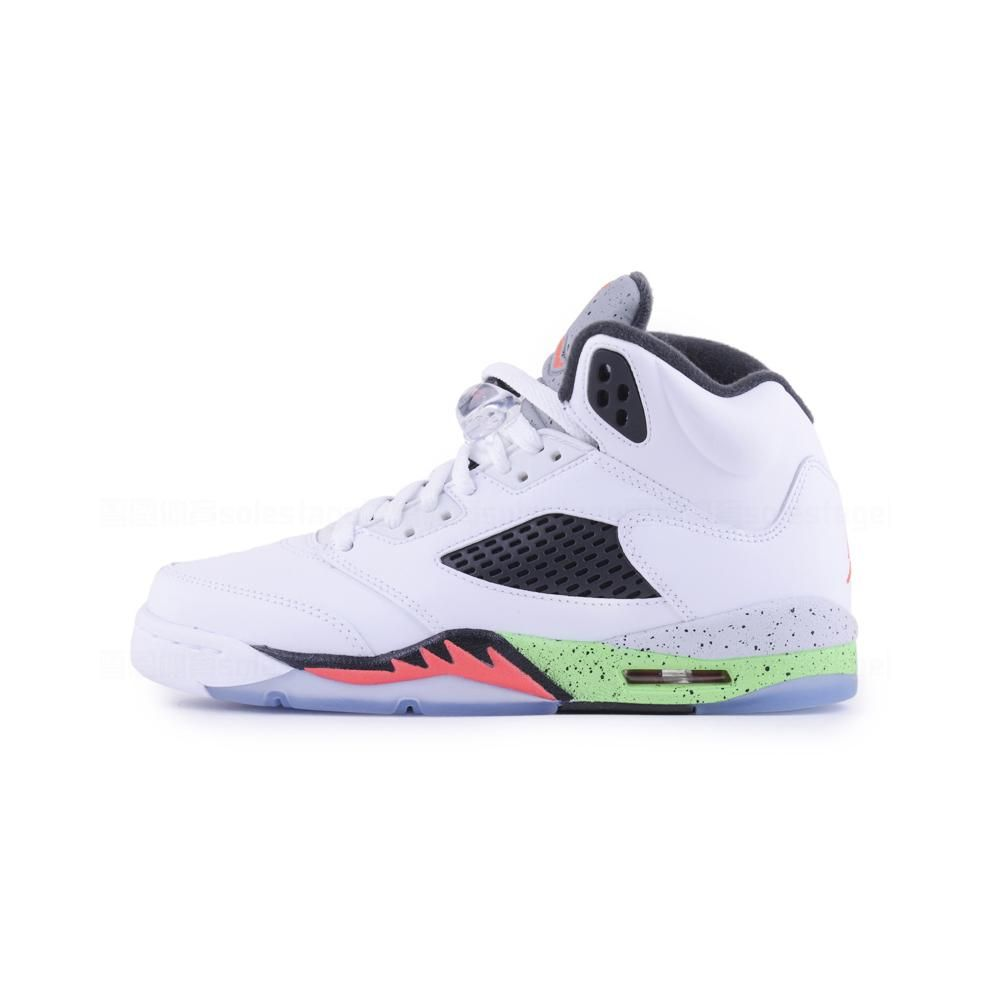 on sale ee41a db599 Jordan Retro 5 Men Basketball shoes Red Blue suede Space Jam Metallic  Silver Take Flight Athletic
