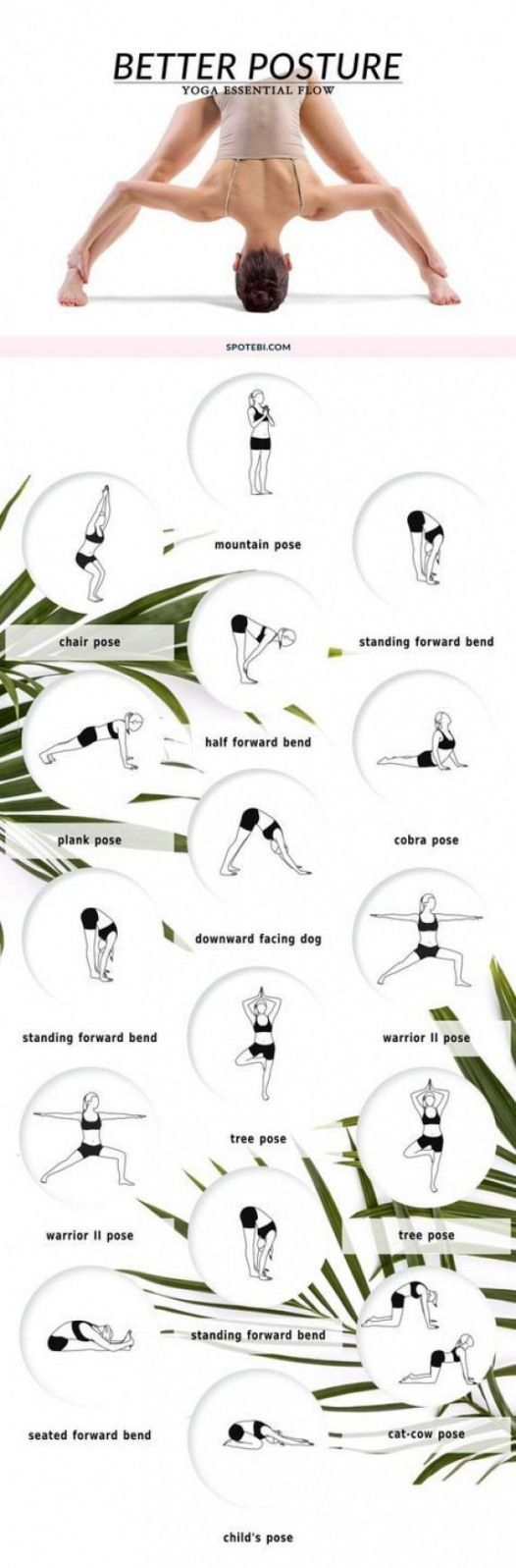 Try these yoga corrective poses to strengthen and stretch your back muscles and improve spinal alignment! This 10 minute yoga flow is designed to help you stand tall and become aware of your posture. For more Yoga you can check our Yoga course. #Mobilityexercises #pilates to strengthen back #pilatescourses
