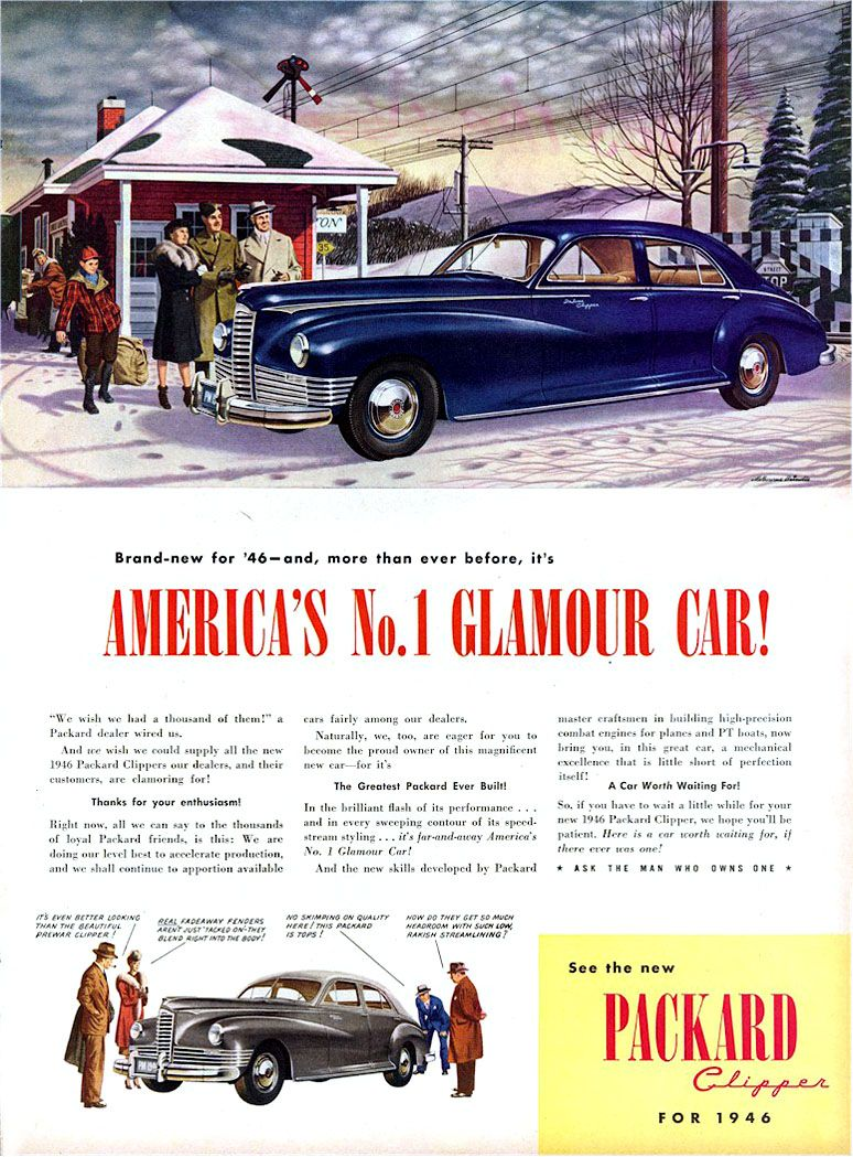 Directory Index Packard Ads 1946 Packard Automobile Advertising Packard Cars