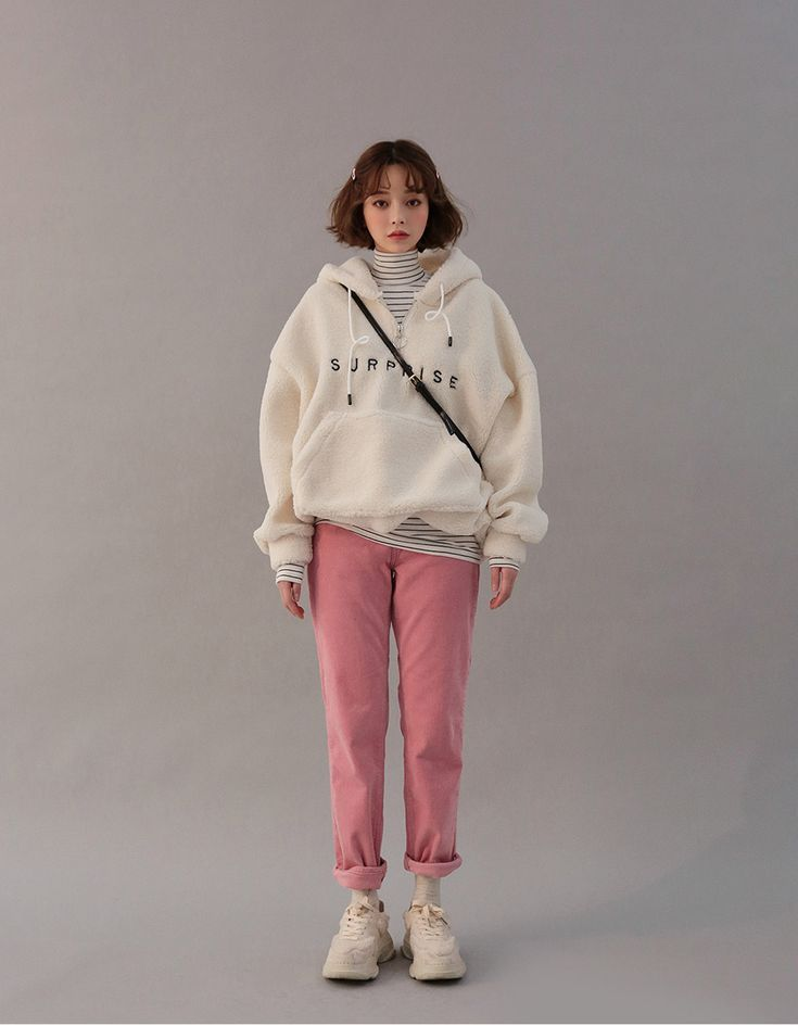 Surprise Shearling Hoodie - CHUU - #CHUU #Hoodie #Shearling #surprise - #CHUU #Hoodie #Shearling #Surprise #koreanstyleclothing