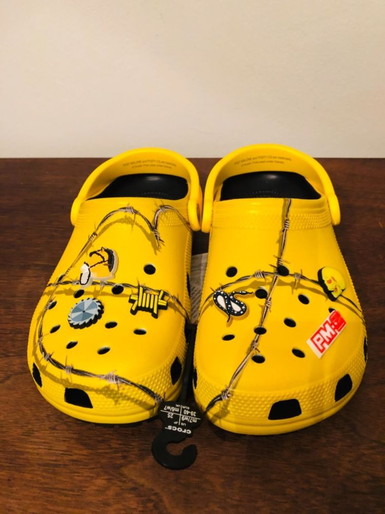 e03f7fe772efab Post Malone x Crocs Barbed Wire Mens 7 Womens 9 (CONFIRMED) Limited Rare   fashion  clothing  shoes  accessories  unisexclothingshoesaccs   unisexadultshoes ...