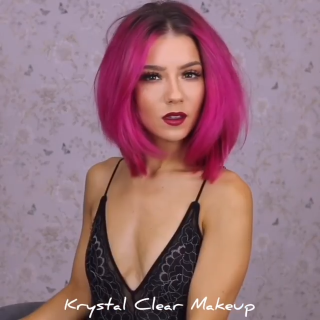 Photo of @ krystalclearmakeup NEON HAIR 🎆 ¿Podrías ???? 😱