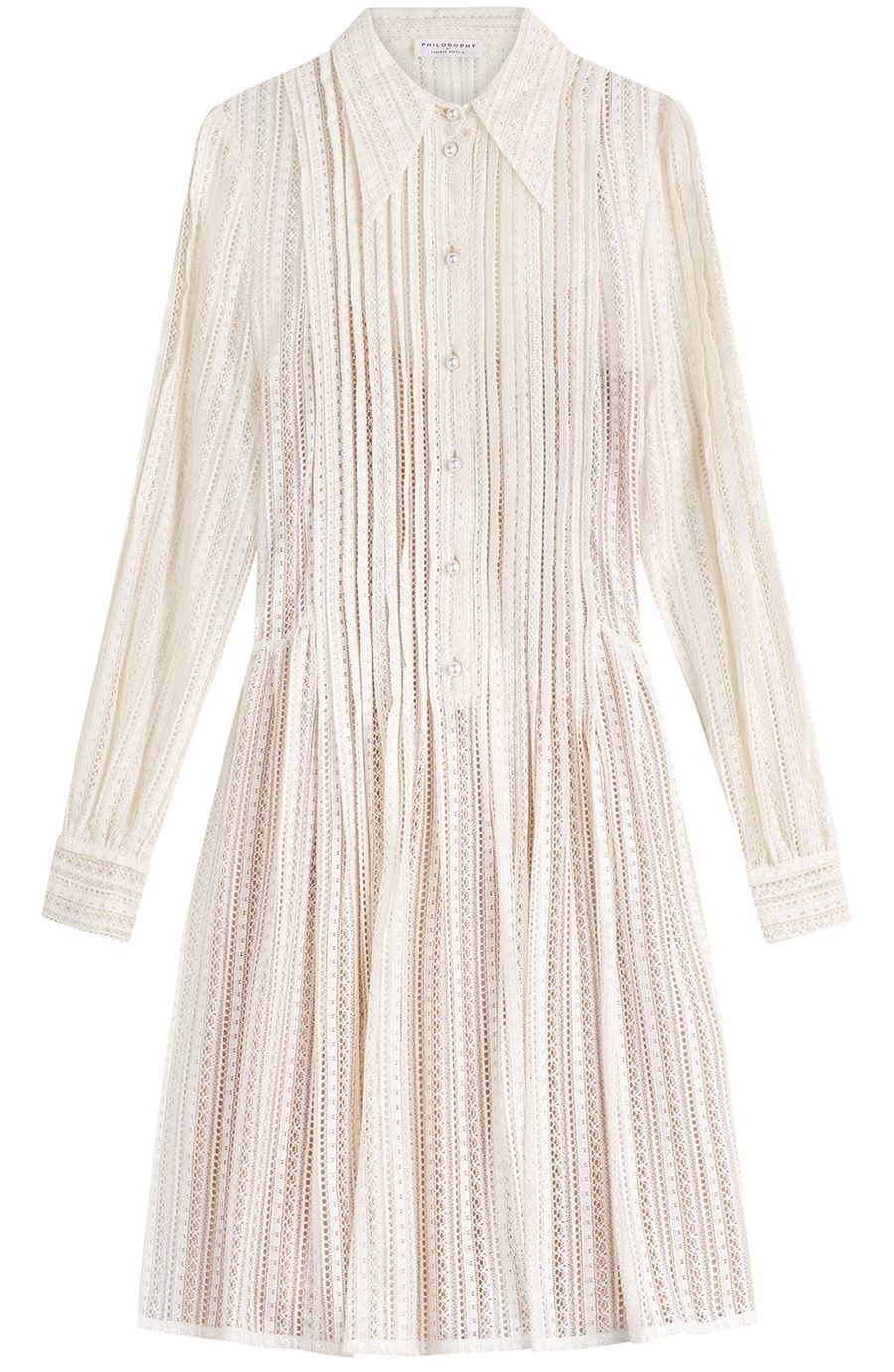 Chemisier Long Sleeves Dress Spring/summer Philosophy di Lorenzo Serafini cqdOhhTw