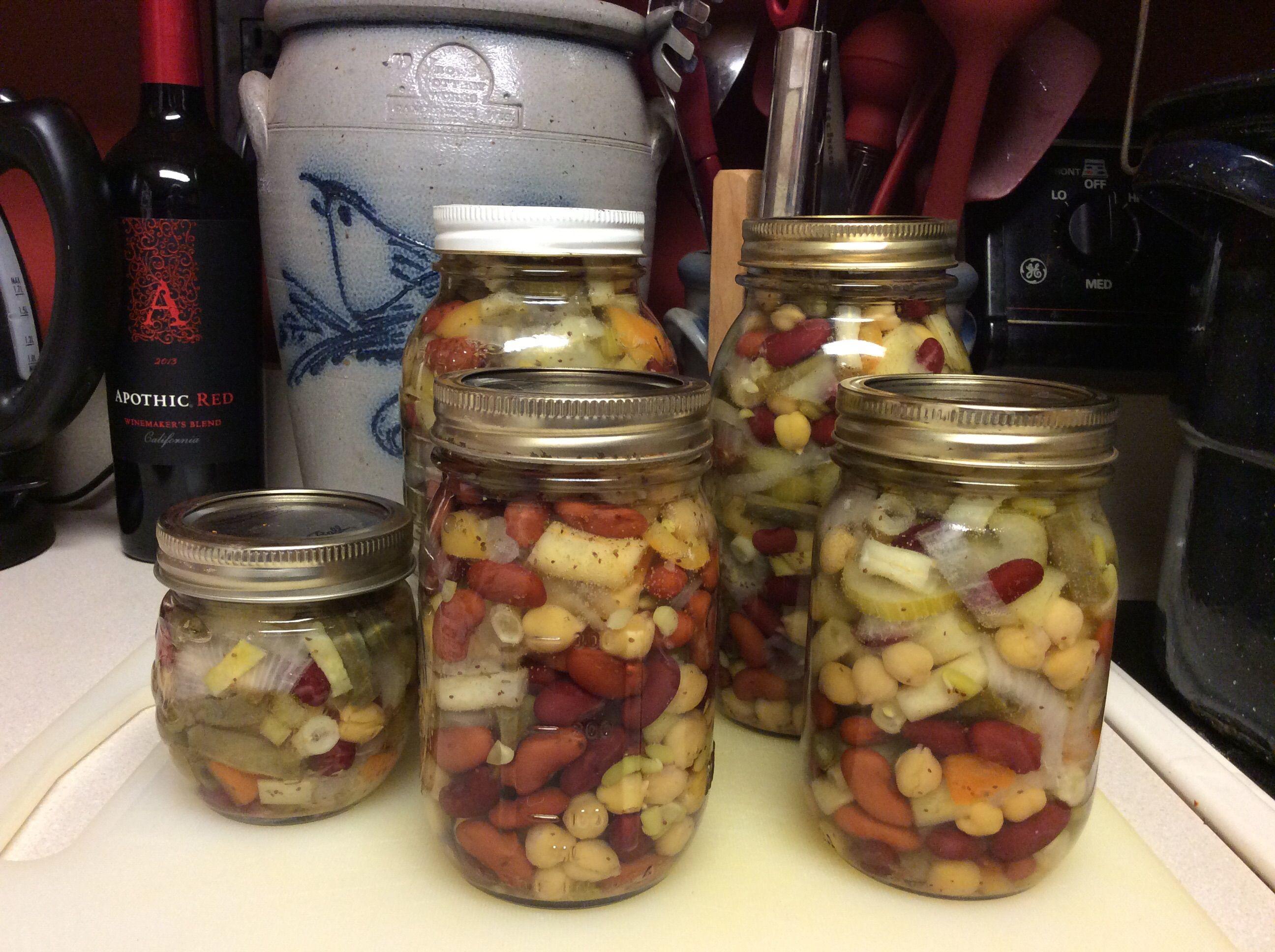 Pickled Three Bean Salad Recipe Bean Salad Recipes Ball Fresh Preserving Three Bean Salad Bean Salad Recipes Bean Salad