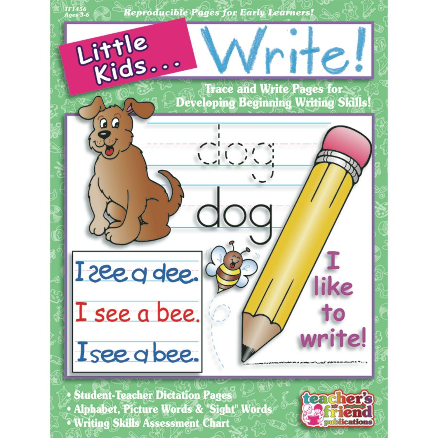 Little Kids Can Write Ages 3 6 Book