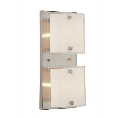 You'll love the Brentwood 2 Light Wall Sconce at Wayfair - Great Deals on all Lighting  products with Free Shipping on most stuff, even the big stuff.