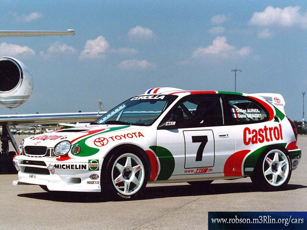 Toyota Corolla WRC | Toys | Pinterest | Toyota, Rally and Rally car