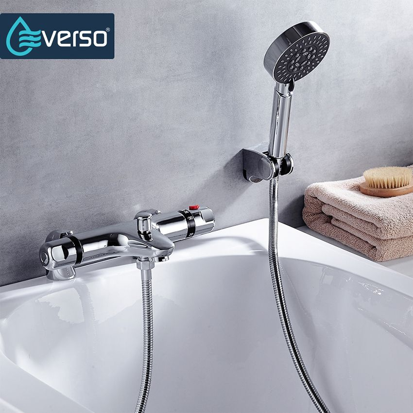 Hot Sale! Shower Faucet Sets Modern Thermostatic Bathroom Bath ...