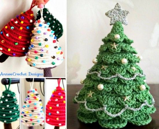 Christmas Crochet Tree Pattern The Best Ideas | Crochet christmas ...