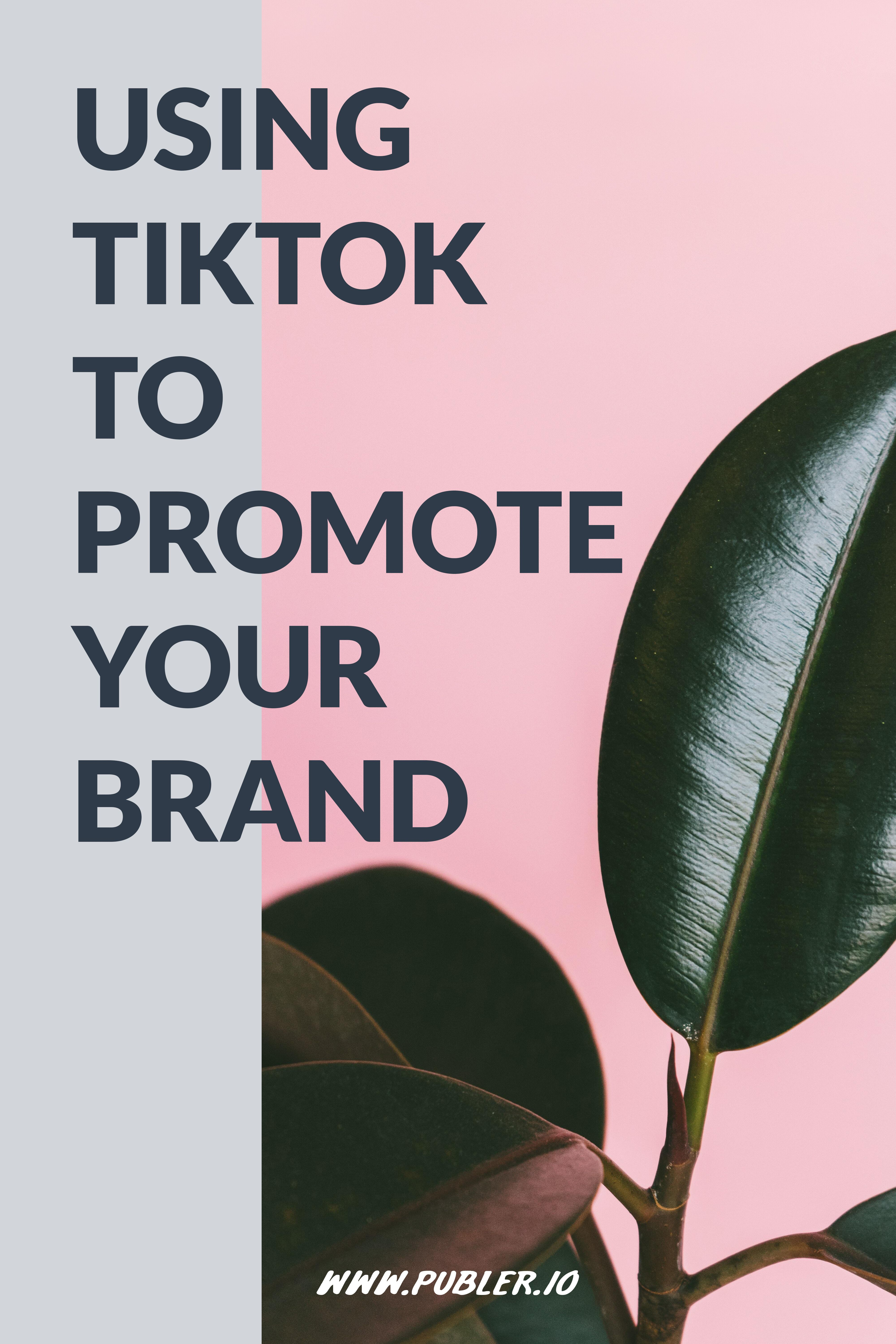 Using Tiktok To Promote Your Brand Fantasy Words Free Video Creator Smart Solutions