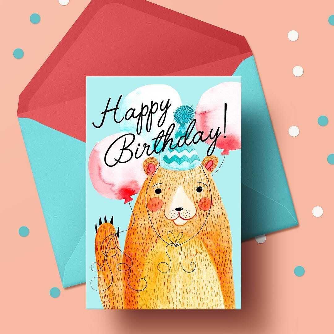 Behind The Scenes The Making Of A Happy Birthday Bear Card By