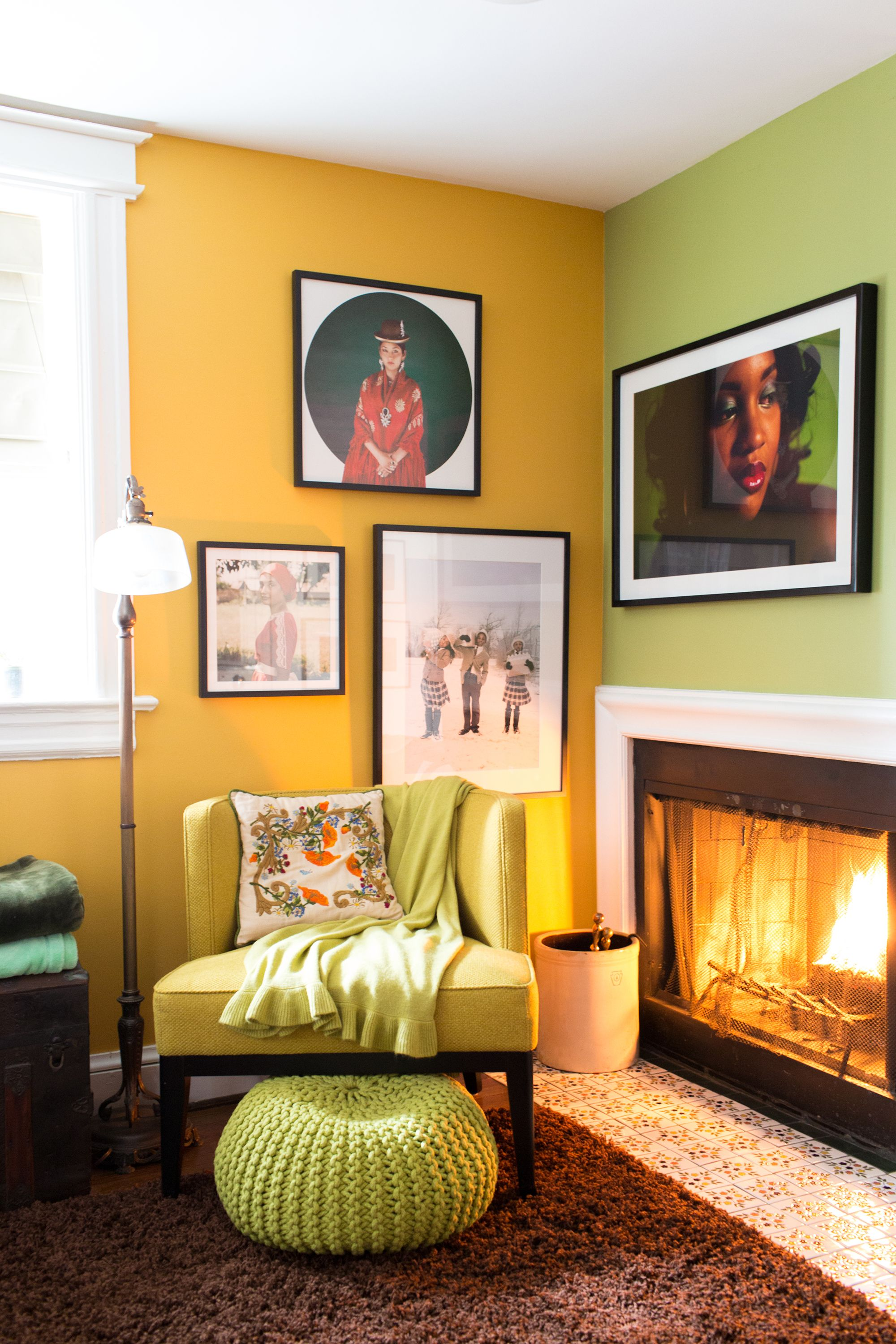 Paint colors that match this Apartment Therapy photo: SW 7687 August ...