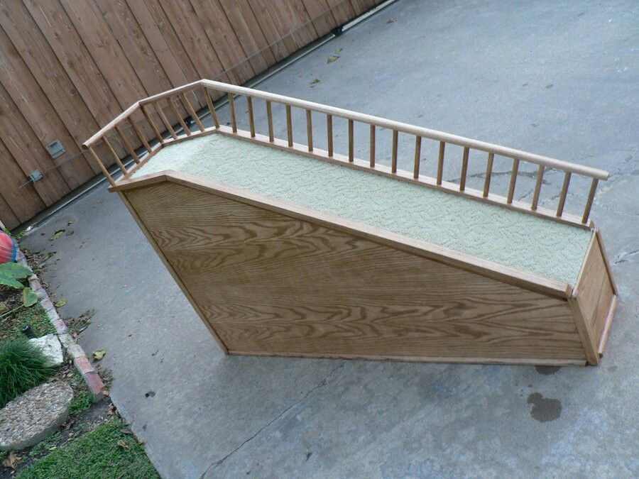 Pin by Laina on Pawz & All Dog ramp for bed, Dog ramp