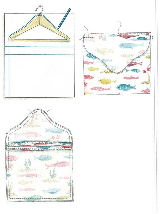 How To Make: A peg bag | Sewing | Pinterest | Wäscheklammerbeutel ...