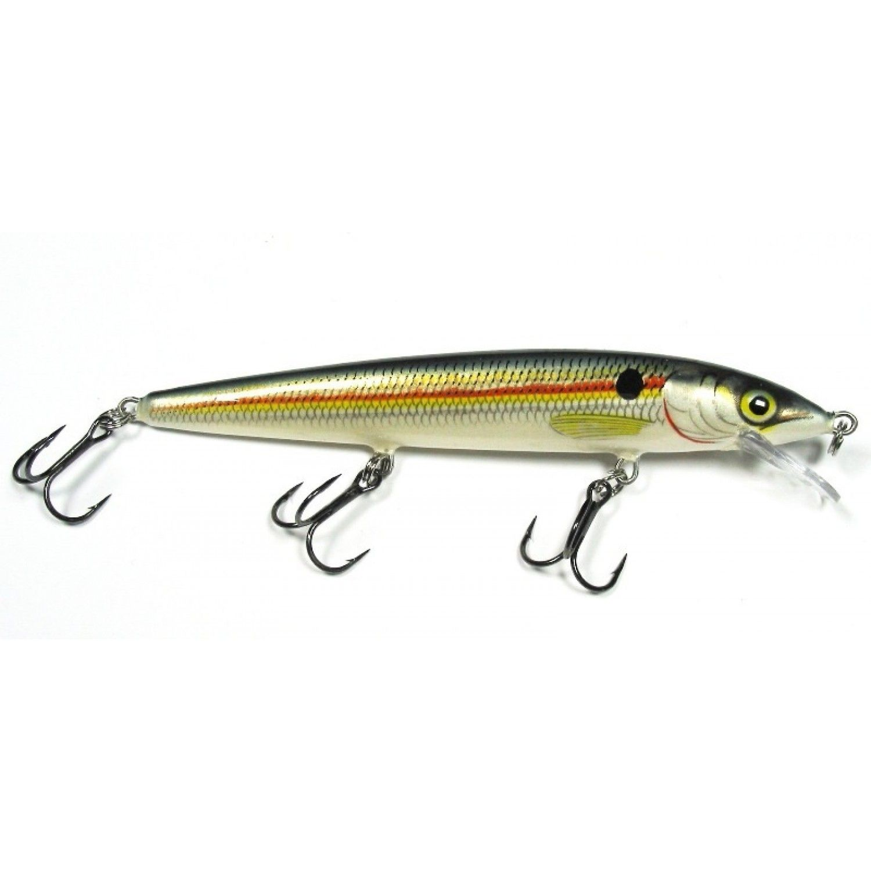 Senuelo Rapala Husky Jerk Rapala Air Brush Painting Fish