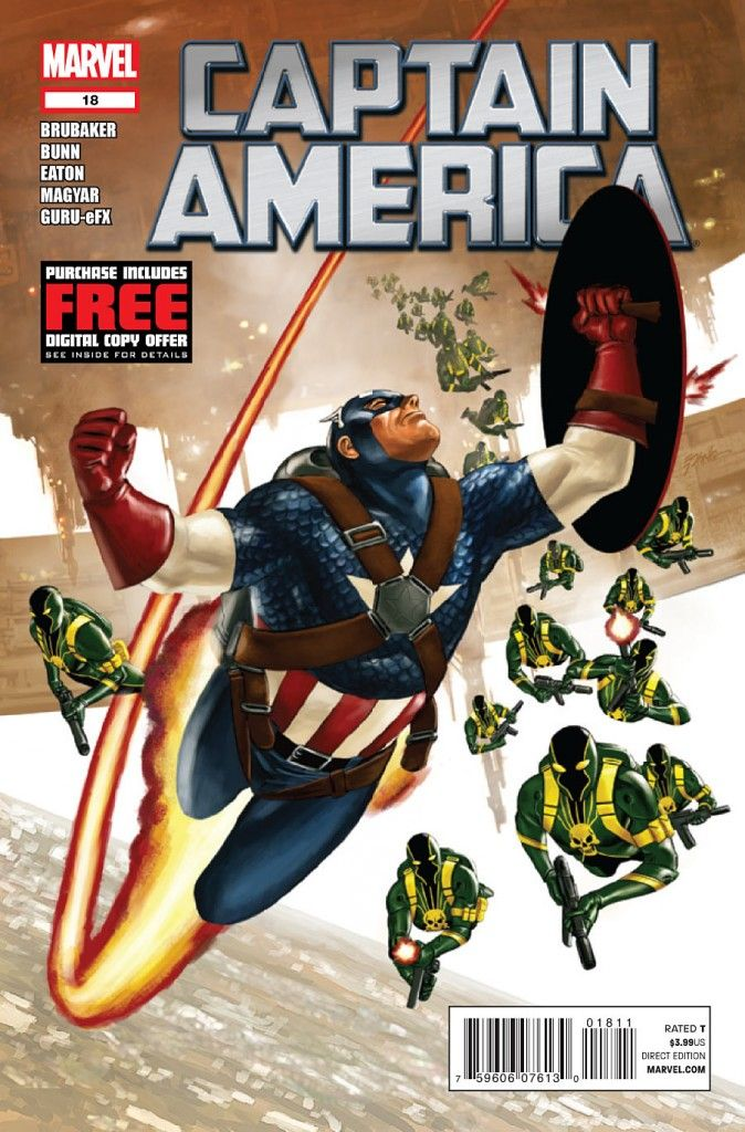 captain america comic book photos | Captain America #18 Review | Marvel Comics | Talking Comics