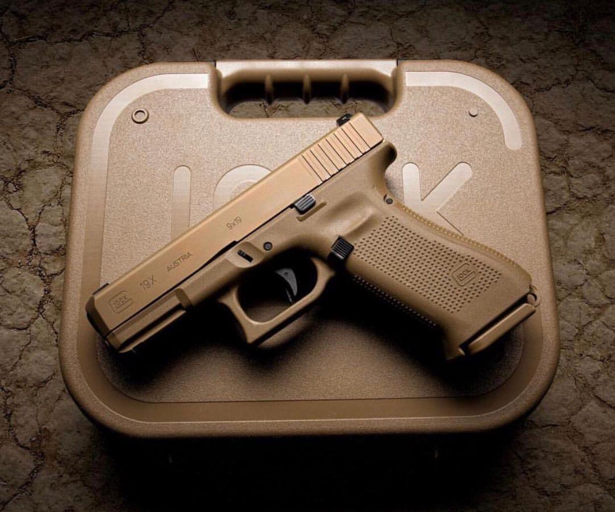 Glock 19X | Glock | Hand guns, Glock mods, Guns