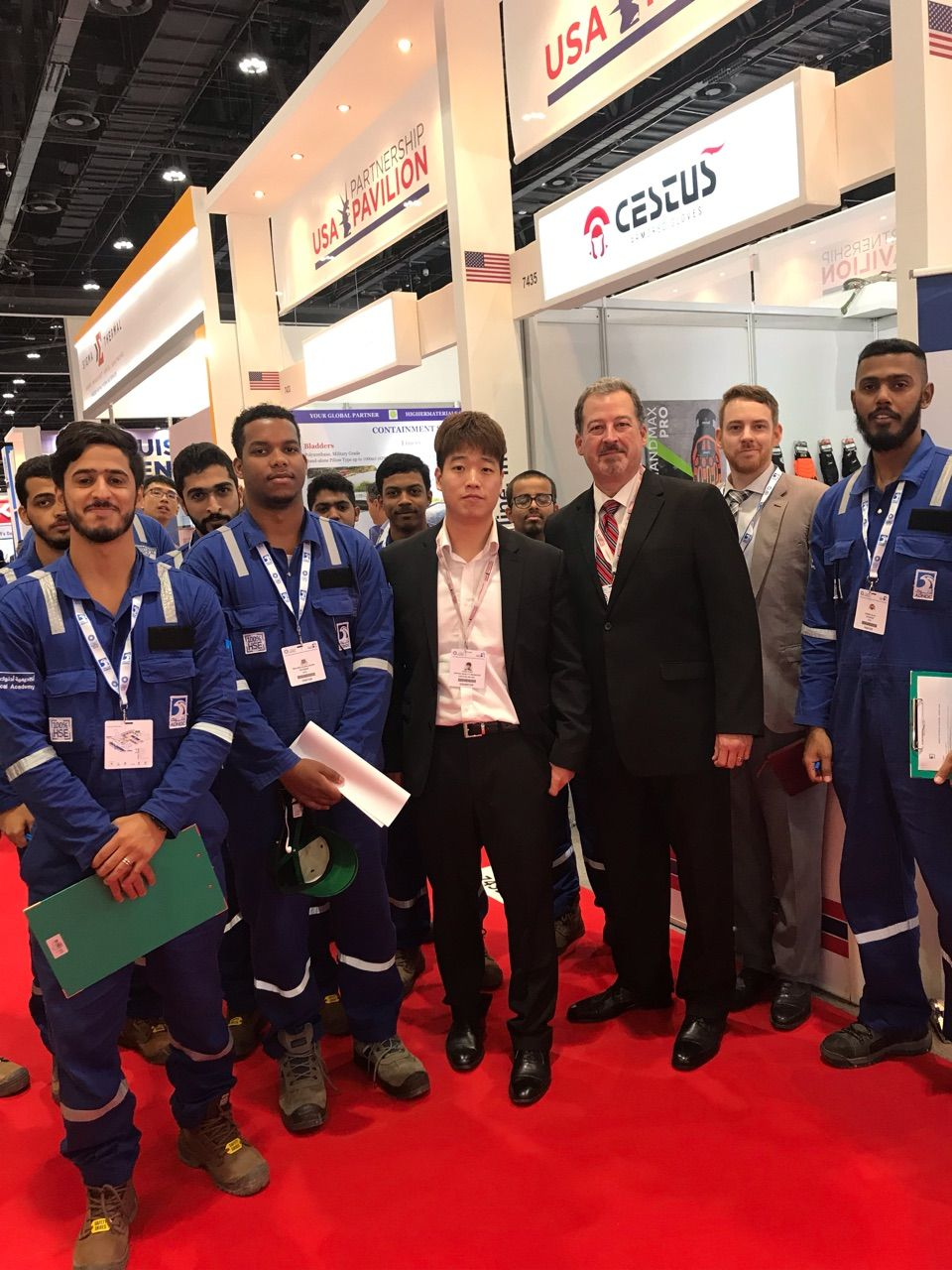 On the Go at ADIPEC in Abu Dhabi ADIPEC Safety gloves