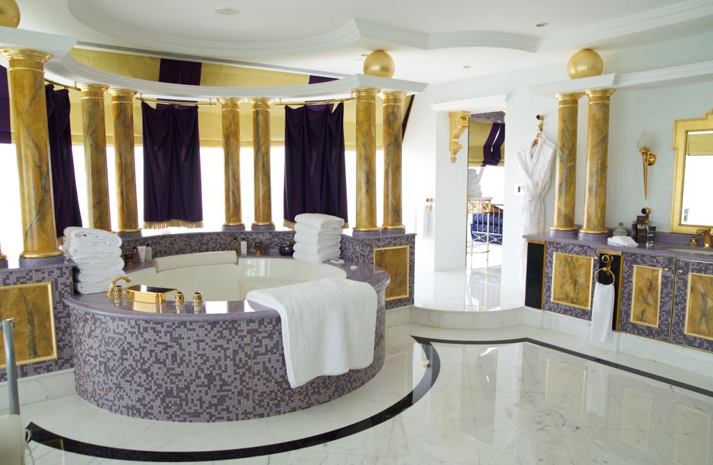 Luxury suite burj al arab travels pinterest luxury for Burj al arab suite