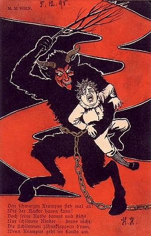 Dec 5th is Krampus Day - A happy, feel-good, down home kind of