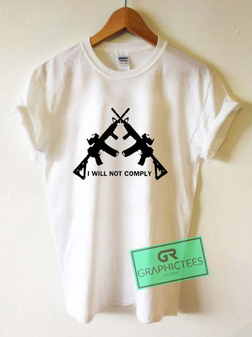 I Will Not Comply Oregon Graphic Tee shirts Price 1350  tees funny