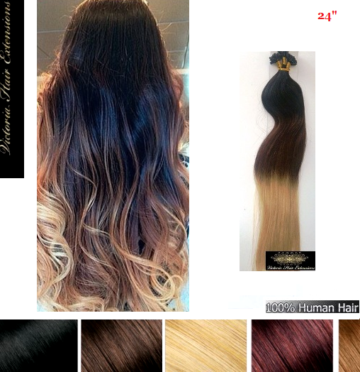 Tape extensions ombre 60 cm