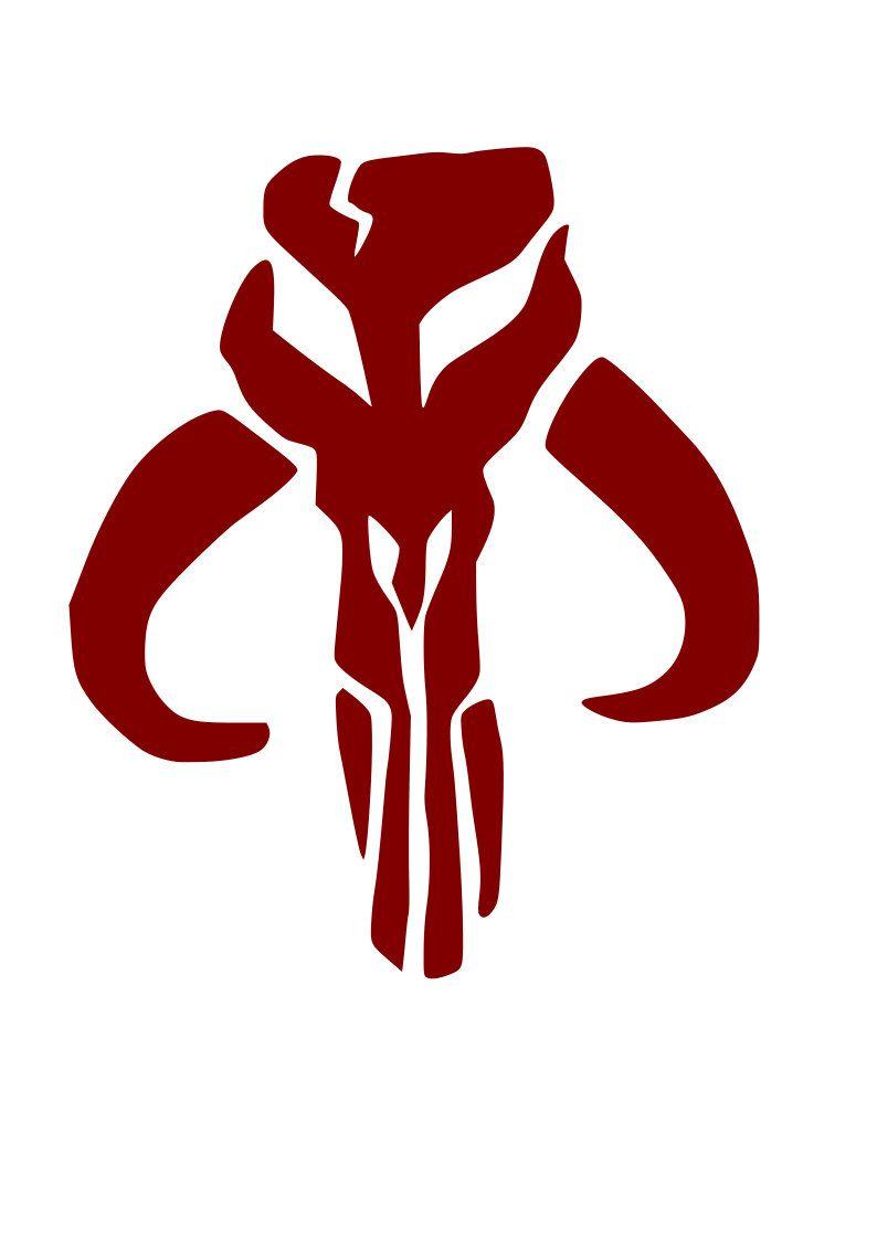 Mandalorian Banta Skull Https Www Etsy Com Listing 757847646 Mandalorian Svg Banta Skull Signet Ref Shop Home Star Wars Tattoo Mandalorian Skull Mandalorian