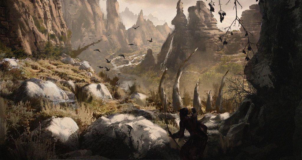 Far Cry Primal Fan Art Far Cry Primal Fantasy Landscape Landscape Concept