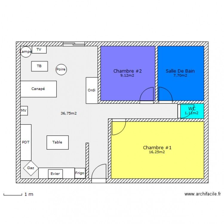 Plan De Maison Marocaine Gratuit 80m2 Plan Petite Maison Plan De Maison F3 Plan Maison 120m2
