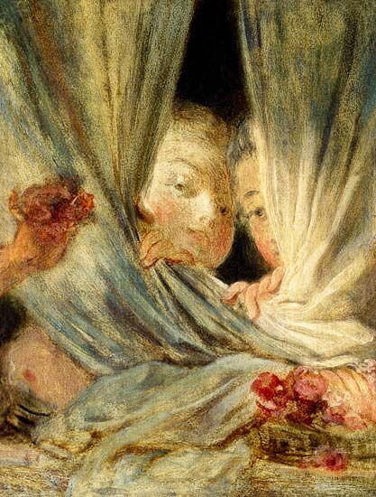 Curiosity  -   Jean-Honoré Fragonard  1776  French 1732-1806  Oil on canvas