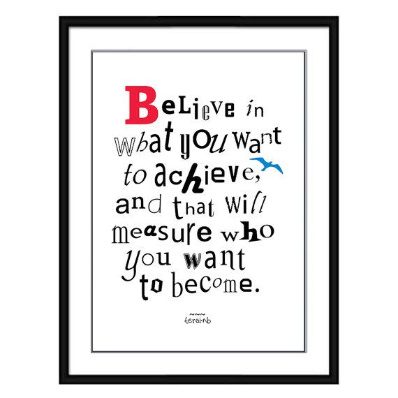 Life Inspirational Quote Print Motivational Picture Why Do I Succeed A4 Poster