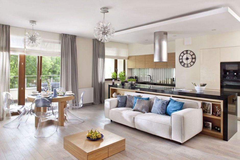 15 Pomyslow Na Salon Polaczony Z Kuchnia I Jadalnia Interior Design Home Home Decor