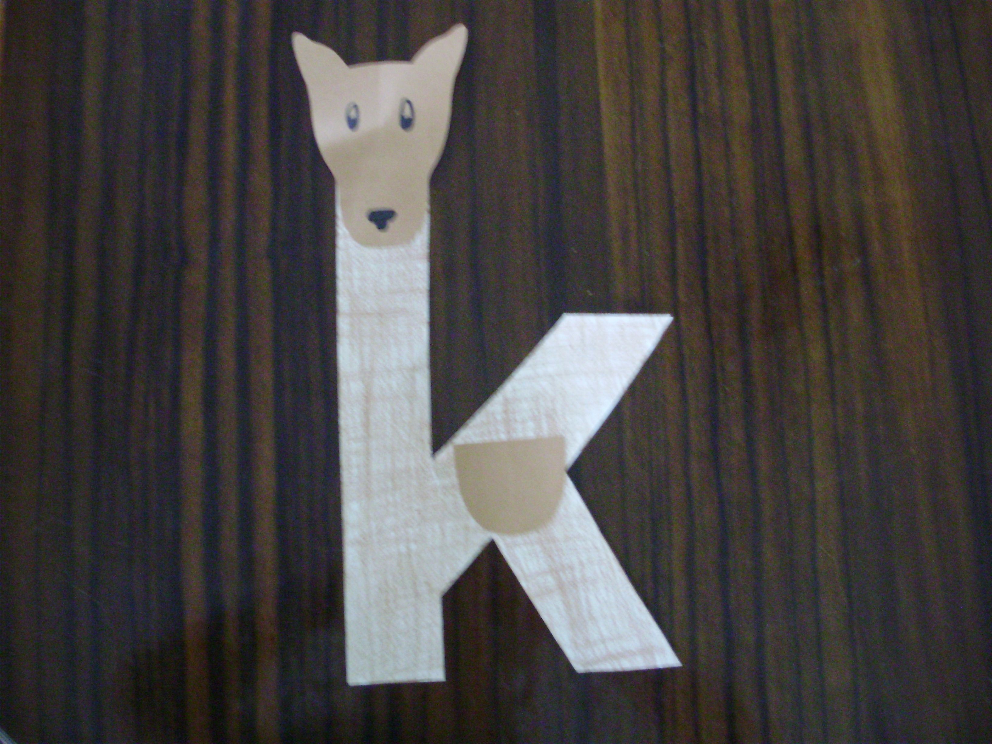 K Is For Keely Kangaroo Houghton Mifflin Alphafriends