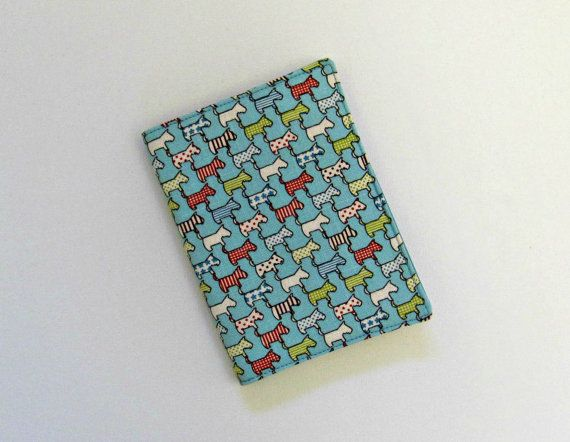 a6 book cover scottie dog refillable wrap for diary address book