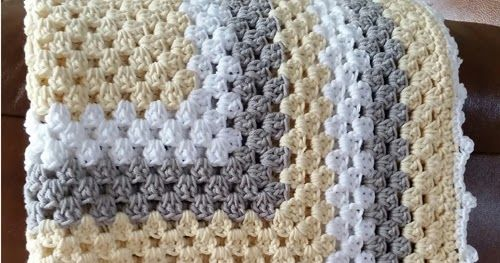 Crochet For Children: Granny Square Baby Blanket - Free Pattern ...