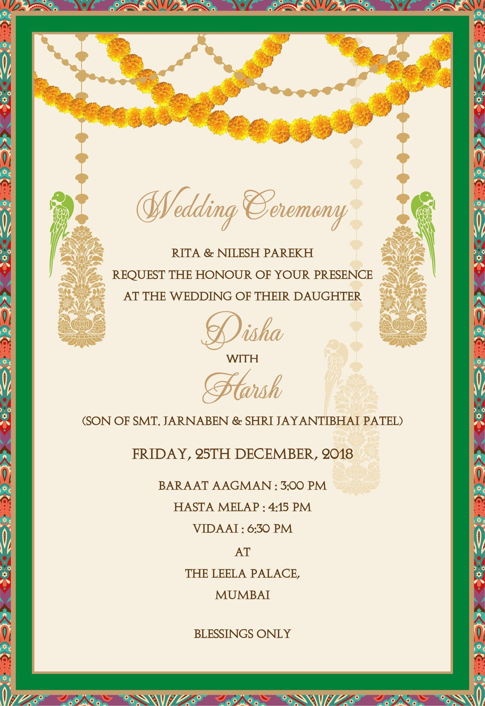 How To Write Indian Wedding Invitation Card How To Write Indian Wedding In 2020 Indian Wedding Invitation Cards Indian Wedding Invitation Wording Wedding Card Wordings