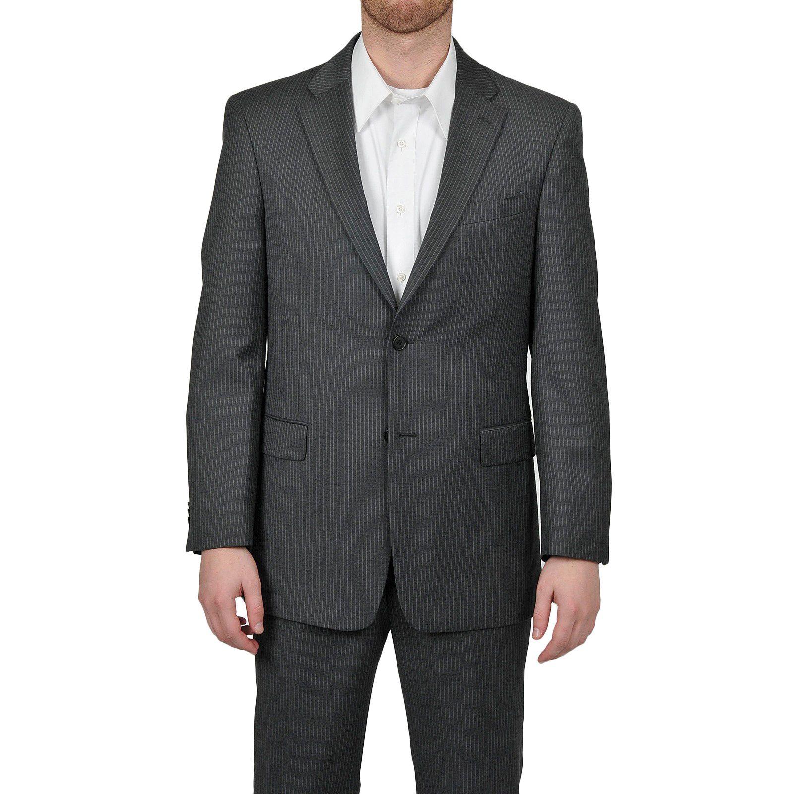 Tommy Hilfiger Men's Trim Fit Gray Slim Jacket (Gray-36R)