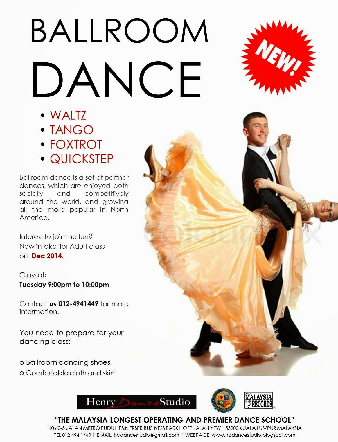 ballroom dance flyer plus more flyer samples ダンススクール